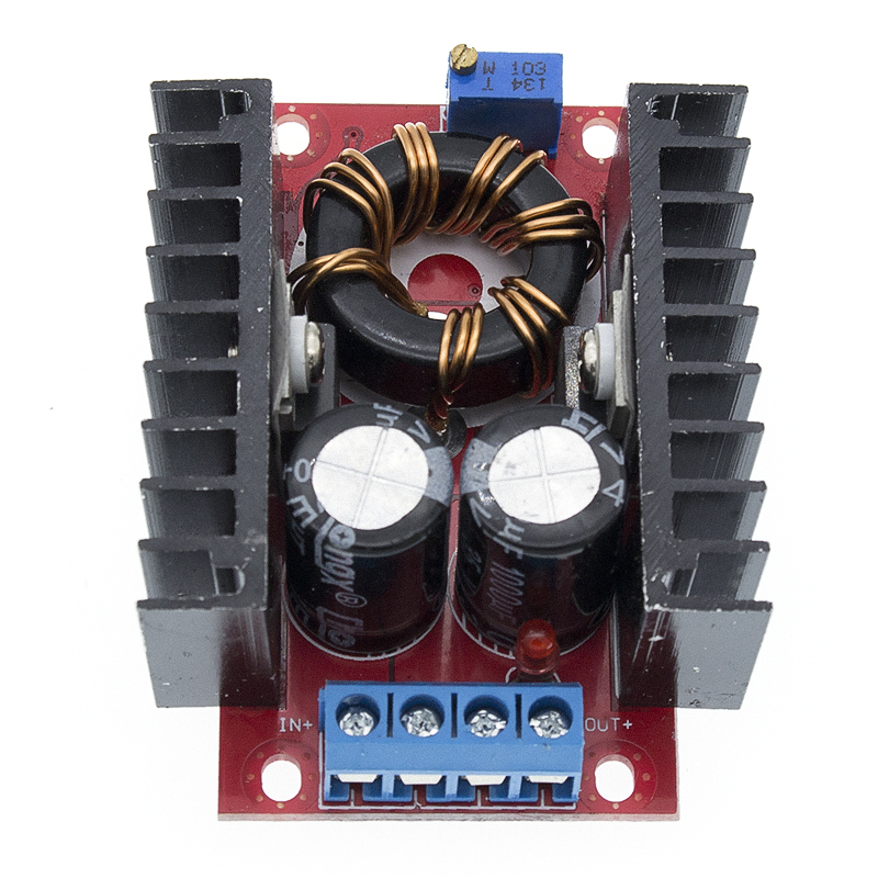150W Boost Converter DC-DC <font><b>10</b></font>-32V to <font><b>12</b></font>-35V Step Up Voltage Charger Module image