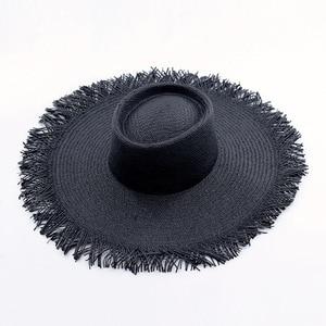 2020 Summer Hat for Women Kuntucky Derby Wide Brim Floppy Sun Hat Ladies Paper Straw Hat UV UPF50 Travel Foldable UV Beach Hat
