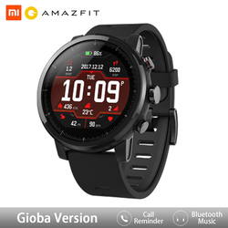 Xiaomi Ecosystem Amazfit Stratos Smartwatch APP Ver 2 with GPS PPG Heart Rate Monitor 5ATM Waterproof Sports Smart Watch