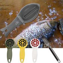 2019 Kitchen Fish Skin Brush Scraping Fishing Scale Brush Graters Fast Remove Fish knife Cleaning Peeler Scaler Scraper цена 2017