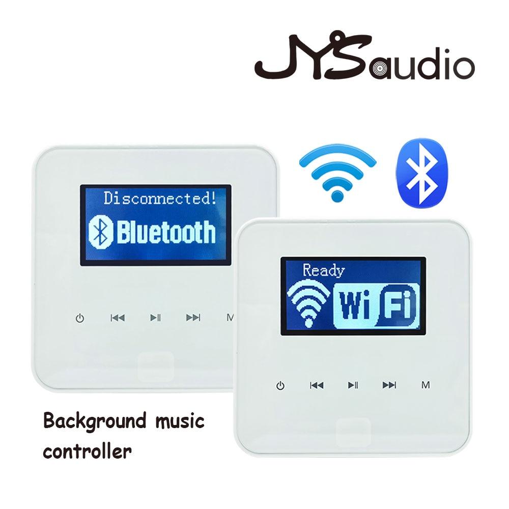 Wi-Fi Bluetooth подключение мини усилитель домашний музыкальный плеер система настенная установка умный настенный усилитель беспроводной BT Amps.