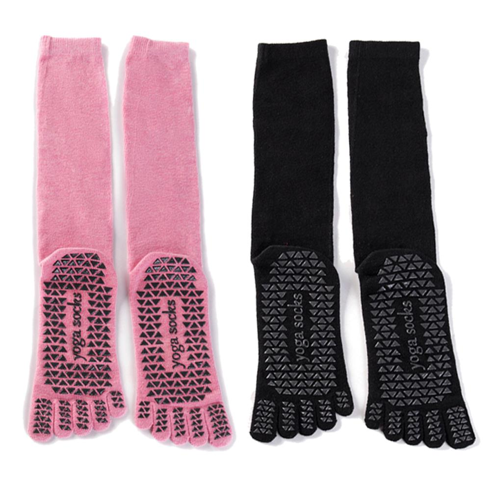 Yoga Non-skid Slipper Socks Five-finger Fitness Stocking Cotton Sports Socks For Slimming Gymnastics Foot Massage Daily Warmth