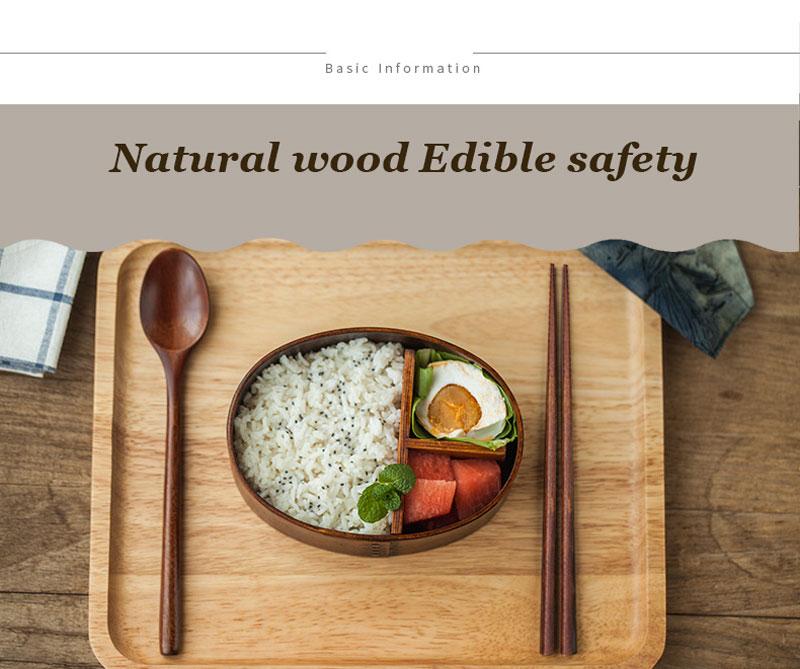 Новинка креативная японская ложка набор палочек для еды Экологичная