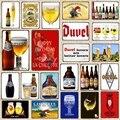 [Yzfq】декоративная металлическая бутылка для пива, декоративная табличка, винтажная настенная панель, домашний декор в стиле ретро, 30x20 см, дл...