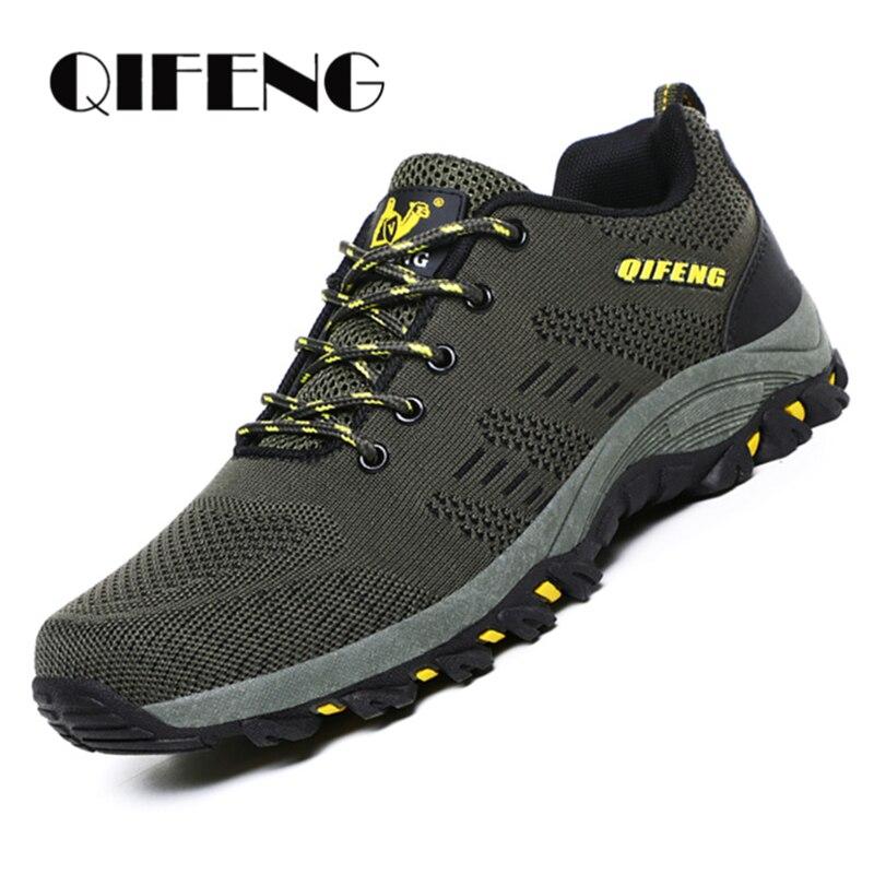 Новое поступление, мужская повседневная спортивная Рабочая обувь, кроссовки для бега на подушке, летние кроссовки с дышащей сеткой, легкая