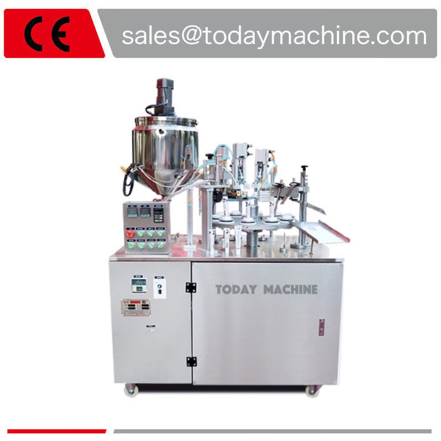 ultrasonic soft tube filling sealing machine/ facial cleanser machine