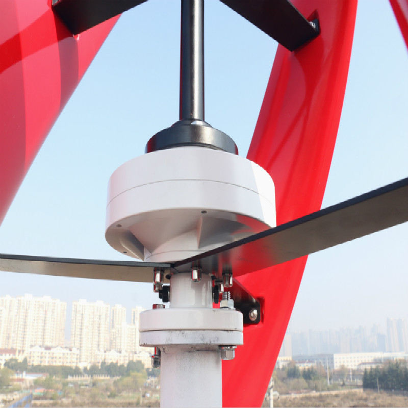 R & X 300 w/500 w rouge Vertical éolienne générateur Maglev 3-lames moulin à vent 12 v/24 v silencieux prix usine contrôleur gratuit - 5