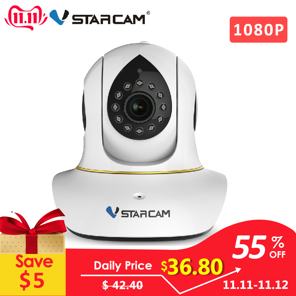 Vstarcam C38S 1080P Full HD უკაბელო IP კამერა wifi კამერა Night Vision 2 MegaPixel Security Internet Surveillance Camera
