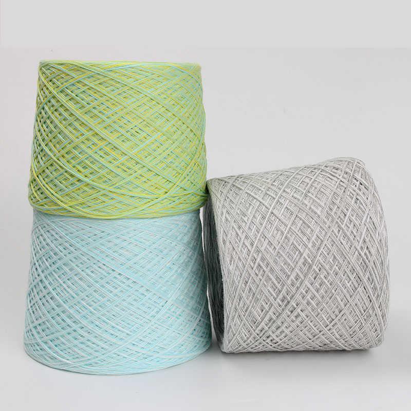 500 그램/몫 뜨개질을위한 저렴한 원사 크로 셰 뜨개질 양모 + 면화 laine tricoter notoginseng 양모 스레드 손 뜨개질 crocheting diy t50