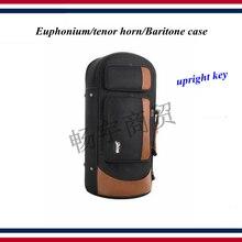 Вертикальный ключ euphonium тенор-Горн баритон чехол утолщение портативный Коробка Сумка