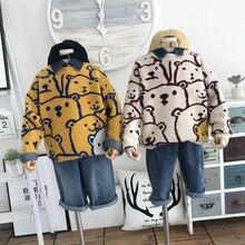 Fashion New Hot Sale Autumn Boys Sweater Cotton thicnken bea