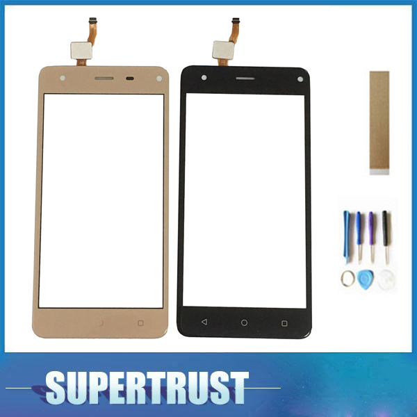 For Prestigio Grace P5 PSP5515DUO PSP5515 PSP 5515 Touch Screen Sensor Digitizer Front Glass Panel Black Gold With Tape&tools