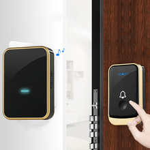 Waterproof Wireless Doorbell 300M Remote EU UK US Plug Smart Door Bell for Home