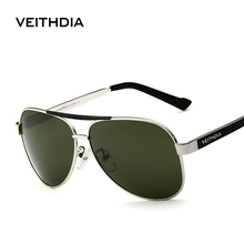 VEITHDIA Met Originele Case Gepolariseerde Zonnebril Mannen Merk Designer Zonnebril UV 400 Lens gafas oculos de sol masculino 3152