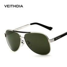 VEITHDIA lunettes de soleil polarisées pour hommes, styliste, UV 400, étui dorigine, collection 3152