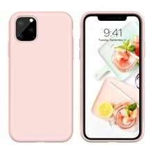 Official Phone Case for IPhone SE 2020 Iphone 7 8 Plus 6 6S Silicone Liquid Original Cover XS Max XR X