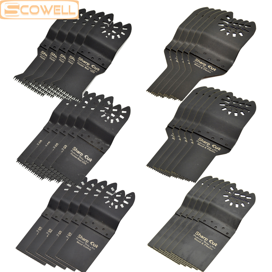 35 OFF 30pcs Mixed Oscillating Multi Tool Saw Blade for Multimaster power tool plunge saw blades