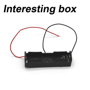 18650 opakowanie na baterie 1 sekcja 3 7V model samolotu bateria diy plastikowe opakowanie na baterie z litową linią opakowanie na baterie tanie i dobre opinie