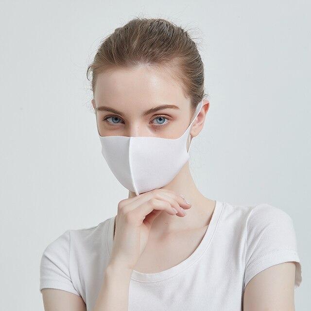 [FEILEDIS]Mouth Mask Anti Haze Dust Washable Reusable Women Men Child Dustproof Mouth-muffle Winter Warm Mask  4 colors 2