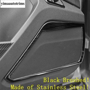 Image 3 - Yan kapı ses ses hoparlör/iç kol kase çerçeve paslanmaz çelik kapak Trim Volkswagen T Roc T Roc 2018   2021