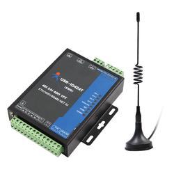 USR-IO424T-EWR 4 канальный сетевой ввода-вывода контроллер с поддержкой Wi-Fi и Ethernet Поддержка WAN/LAN RS485 последовательный сервер 4DI/4DO/2AI/1PT