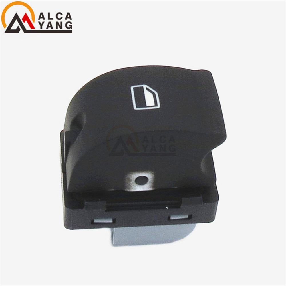 New Single Electronic Power Window Control Switch Button For 2004 - 2015 Audi A3 Sportback A6 A6 Avant Q7 4F0 959 855A 855 image