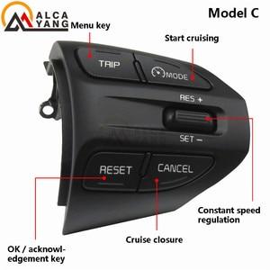 Image 2 - Steering Wheel Button For KIA K2 RIO 2017 2018 2019 RIO X LINE Buttons Bluetooth Phone Cruise Control Volume .