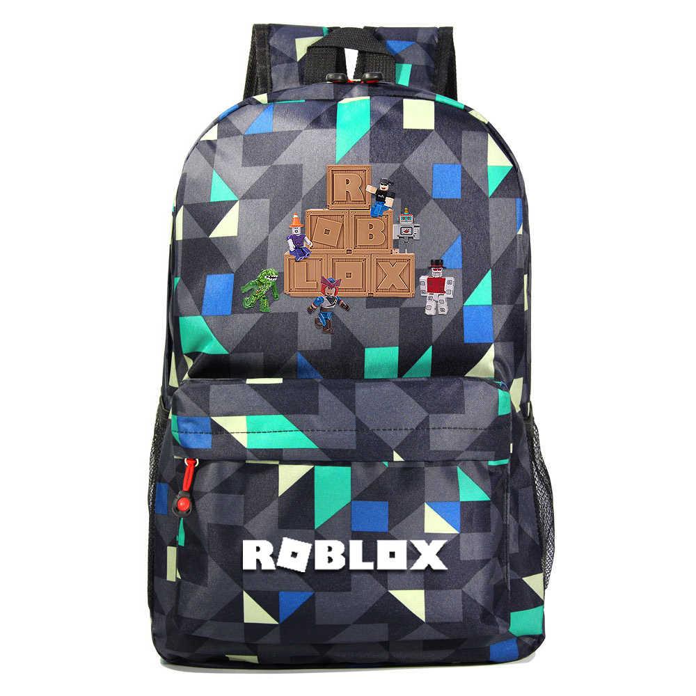 Roblox Rugzak Voor Tieners Kids Jongens Kinderen Student Schooltassen Unisex Laptop Rugzakken Reizen Schoudertas