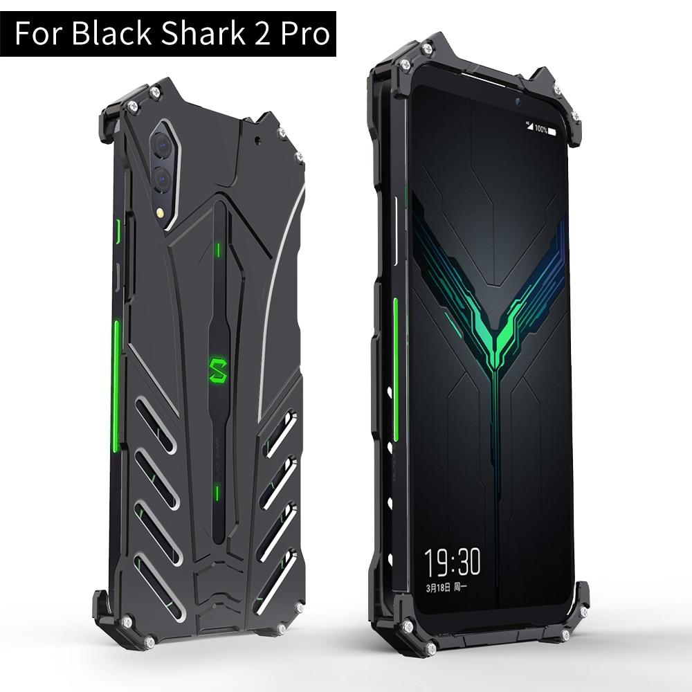 For Xiaomi Black Shark 2 Pro Case R Just Luxury Aluminium Metal Case For Black Shark 2 Phone Cover Coque Blackshark 2 Pro Phone Case Covers Aliexpress