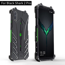 Pour Xiaomi noir requin 2 Pro étui R JUST Batman de luxe en Aluminium boîtier en métal pour noir requin 2 Coque de couverture de téléphone BlackShark 2 pro