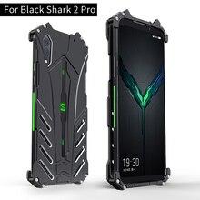 ل Xiaomi الأسود القرش 2 برو حالة R JUST باتمان الفاخرة الألومنيوم معدن حالة ل القرش الأسود 2 الهاتف غطاء كوكه blackShark 2 برو