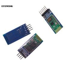 1 pces hc05 HC-05/HC-06 JY-MCU anti-reverso, integrado bluetooth serial pass-through módulo, HC-05 HC-06 master-slave 6pin/4pin
