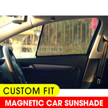 WENLO Magnetic Car Side Window SunShades Cover Mesh For Renault Koleos Kadjar Captur Megane R26 GT220 CLIO 4 Auto Curtain(China)