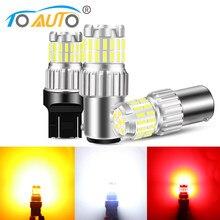 1 pièces 1156 BA15S P21W Ampoule Led BAU15S PY21W 1157 BAY15D P21/5W T20 7443 W21/5W T25 3157 P27/7W Voiture Led Tour De Signalisation Automatique
