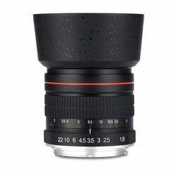 85 мм F1.8-F22 ручная фокусировка портретный объектив Камера объектив для цифровой однообъективной зеркальной камеры Canon EOS 550D 600D 700D 5D 6D 7D 60D DSLR Ка...