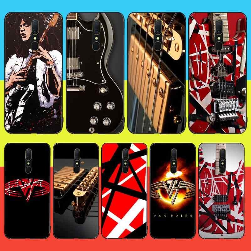 Penghuwan エディ · ヴァン · グラフィックギターブリンブリンかわいい電話ケース oppo A5 A9 2020 A11x A71 A73S A1K A83 ケース