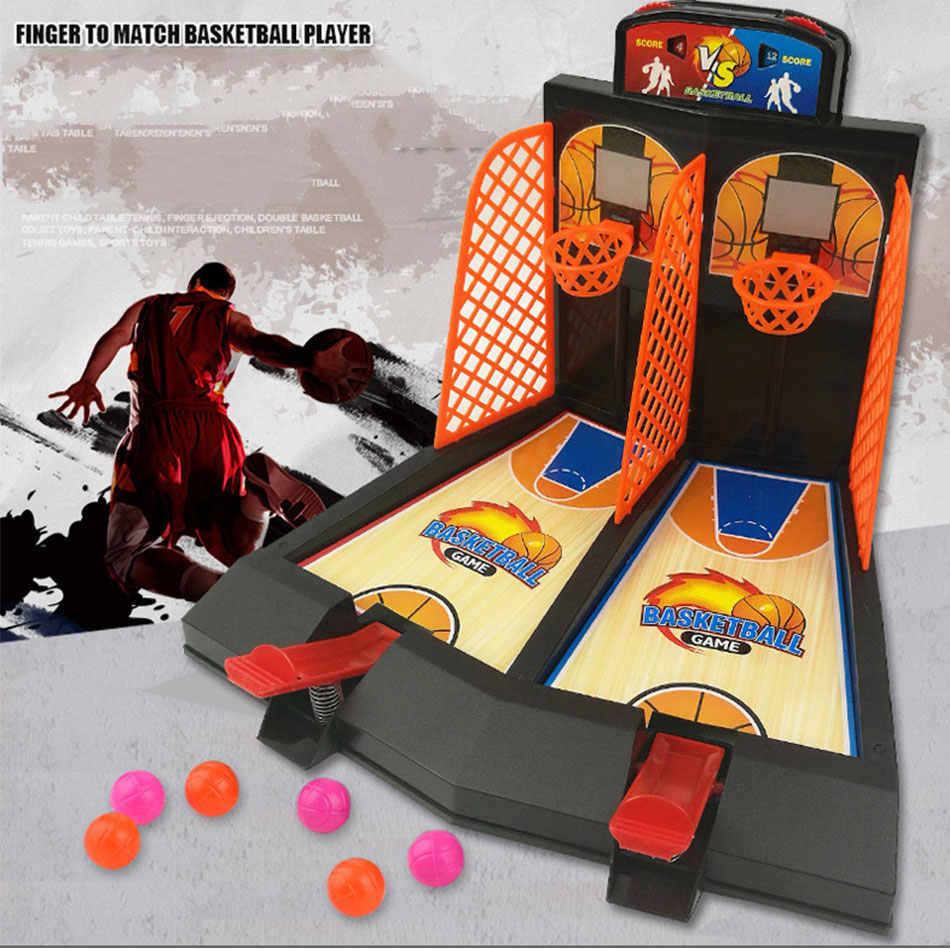 เกมบาสเกตบอล BOUNCE เดสก์ท็อปมินิตะกร้ากีฬายิงตาราง Battle ตลกปริศนา BOARD PARTY เกมของเล่นเด็ก