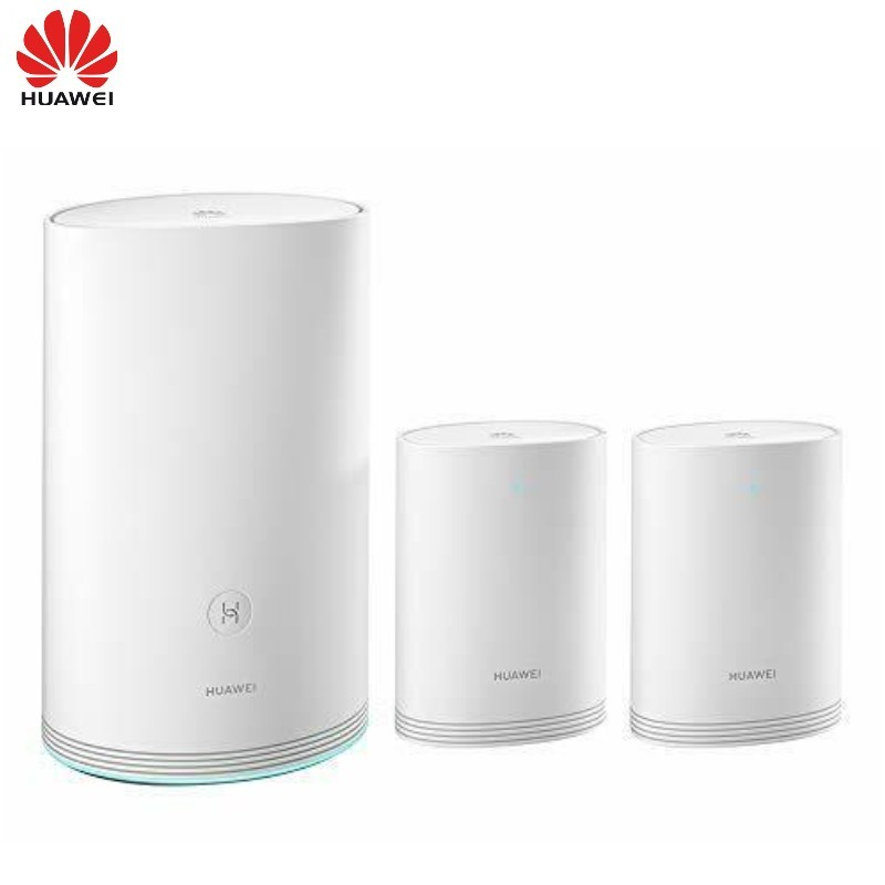 Huawei WiFi Q2 Pro 1+2 mesh network router with a base