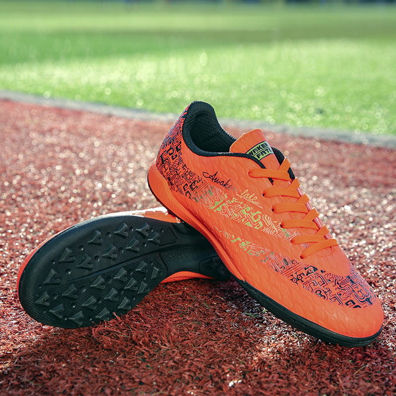 New broken football boots casual comfortable outdoor sports non slip shock proof lightweight and comfortable sneakers|Soccer Shoes| |  - title=