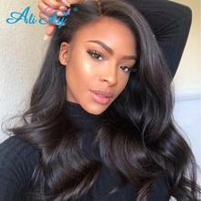 Alisky Hair Brazilian Body Wave Hair Bundles With Closure 5x5 Human Hair Weave Bundles Closure With