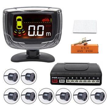 Monitor LCD de 22mm para coche, dispositivo de alarma de sonido con...