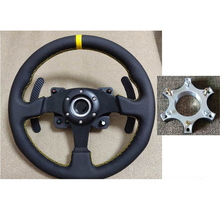 1pcc 70mm גלגל מרווחי מתאם צלחת טבעת עבור Thrustmaster T300RS היגוי גלגלי 13 14 אינץ הגה מתאם צלחת חלקי