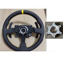 Adaptador de anel para volante, 1 peça, 70mm, placa adaptadora para thrustmaster t300rs, rodas de volante 13 14 polegadas peças da placa