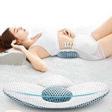 3D Waist lumbar pillow disc herniation lumbar cushion pillow lumbar disc protruding support pregnant women sleeping waist