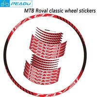 ROVAL 클래식 휠 스티커 MTB roval wheels deacl suit 26/27. 5/29inch 두 바퀴 스티커 stickers mtb wheel stickermtb wheel sticker -