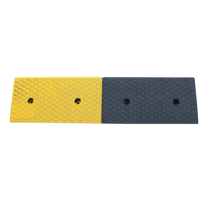 Manufacturers Direct Selling Xie Po Dian Road Serrated Edge Rubber Slope Road Car Uphill Pad Climbing Pad Triangle Pad Step Pad