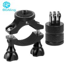BGNing 1/4 Camera Bike Bicycle Handlebar Clamp Bracket Tripod Mount Screw Clip for Gopro Action Camera Cycling for OSMO Mobile 2