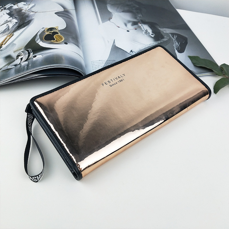 Women Wallets Female PU Leather Wallets Ladies Clutch Phone Bag Coin Purses Card Holder Purse Long  Design Hasp Wallet Carteras