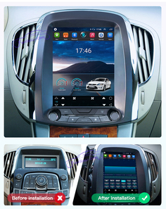 Image 5 - 4GB + 64GB Auto Android Multimedia player für buick lacrosse 2009 2012 jahr GPS Vertikale bildschirm