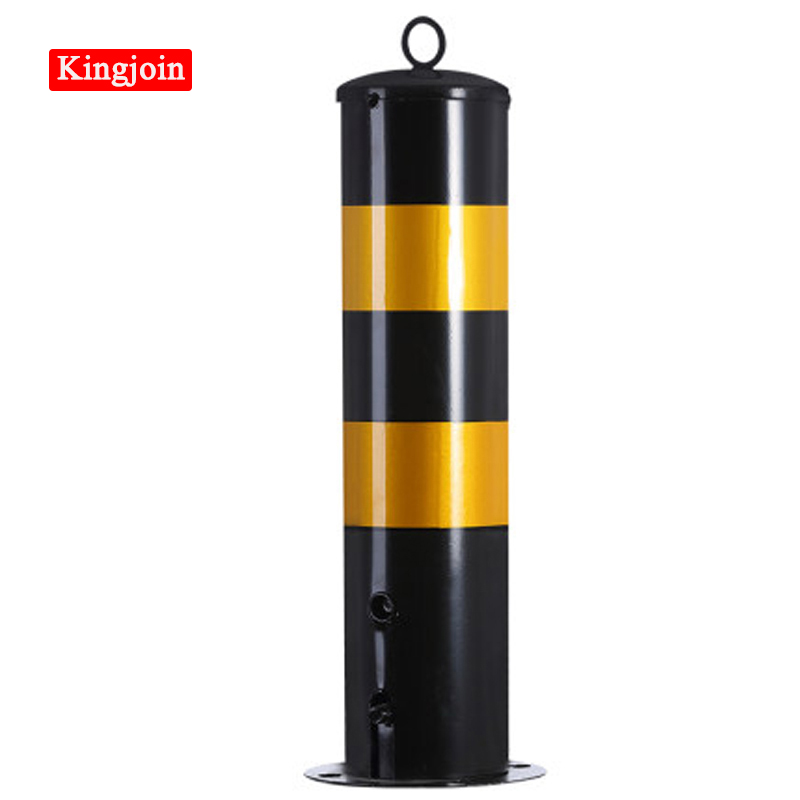 New Steel Pipe Mouth Mark Reflective Sign Column Steel Pipe Warning Column Iron Road Column Guardrail Traffic Facilities